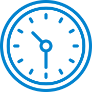 blue watches icon